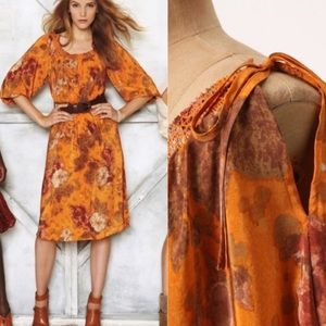 Moulinette Soeurs Cara Cara silk dress